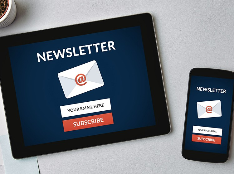 E-mail e newsletter